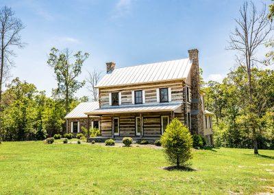 Vintage Log Home